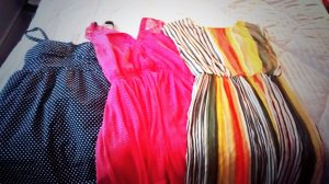 Clothing swap loot from Uber Swap, Toronto.