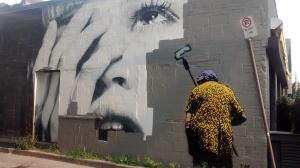 Graffiti on Portland Street, Toronto