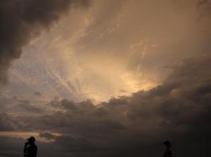 A beautiful sunset in Tamarindo, Costa Rica.