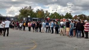 Food Truck Festival Ontario line-ups, Toronto.