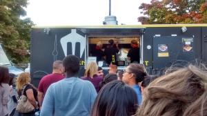 Menu Food Truck At Ontario Place, Toronto.