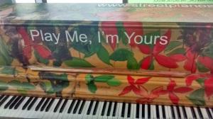 Play Me, I'm Yours. Toronto.