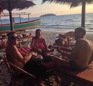 Beach jam Cambodia