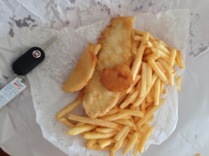 Fish And Chips from Australia, along the Great Ocean Road, Summer 2014.