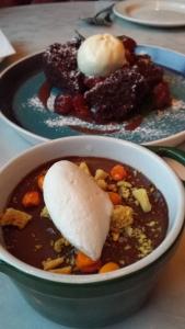 Desserts, THR&Co., Toronto.