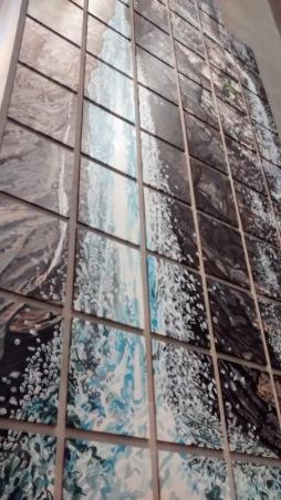 Waterfall, Derek Besant, Toronto.