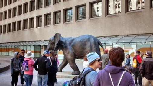 Tembo - mother of elephants, Toronto.