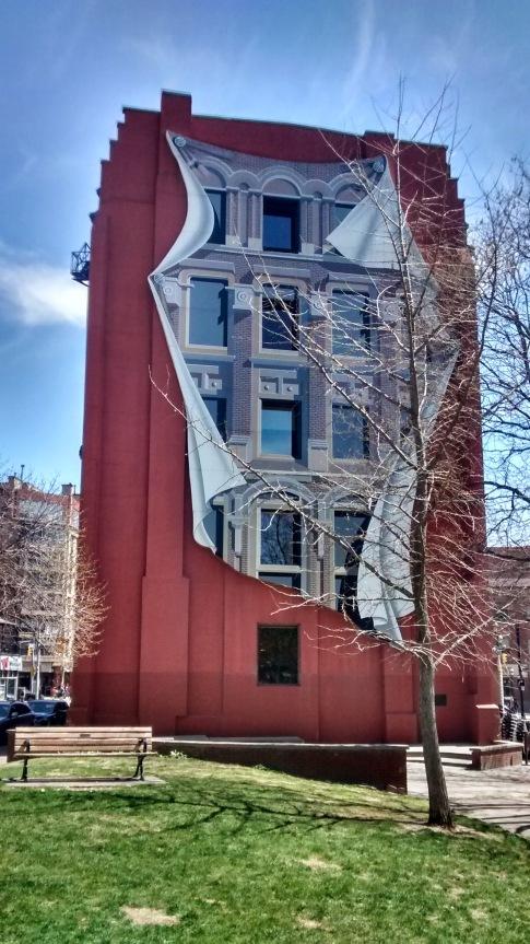 Flat-iron building, Toronto.