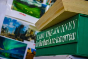 Enjoy the journey. Photo attributed to Sona Dhawan.